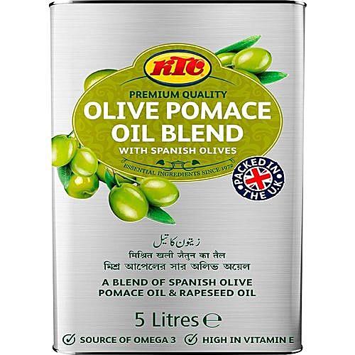 Pomace Oil Blend With Spanish Olives 5 Litres