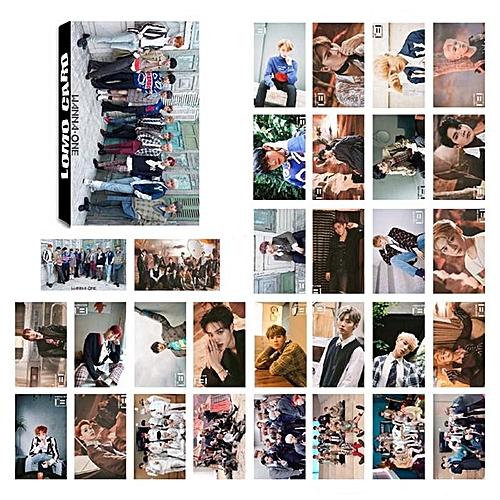 Eleganya 30 Sheets/Set Kpop Wanna One Fashion Photo LOMO Cards