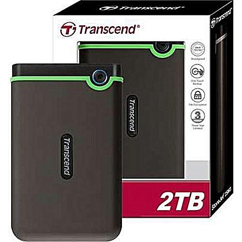 Transcend 2TB USB 3.1 StoreJet Portable Hard Drive