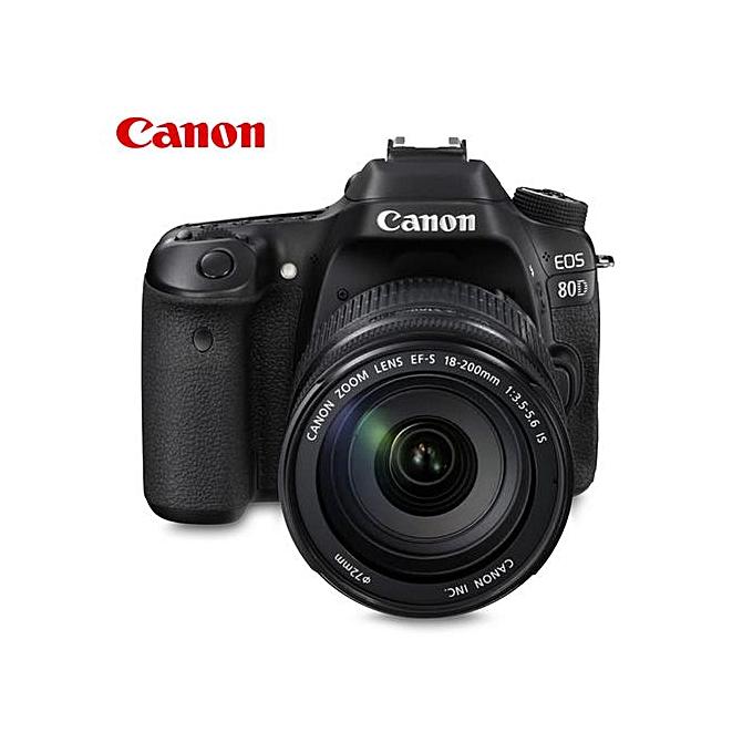 Canon 80D SLR Camera