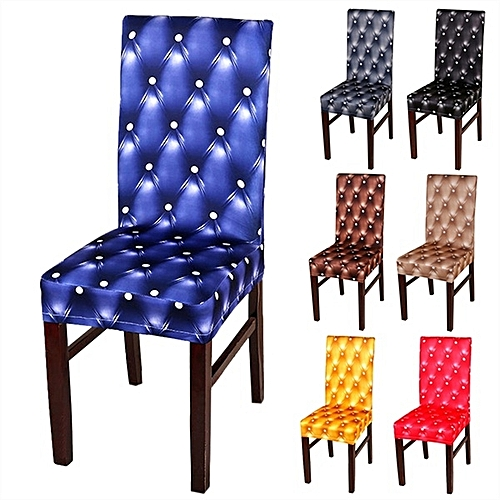 Honana WX-990 Elegant Spandex Elastic Stretch Chair Seat Covers For Party Weddings Decor Dining Room
