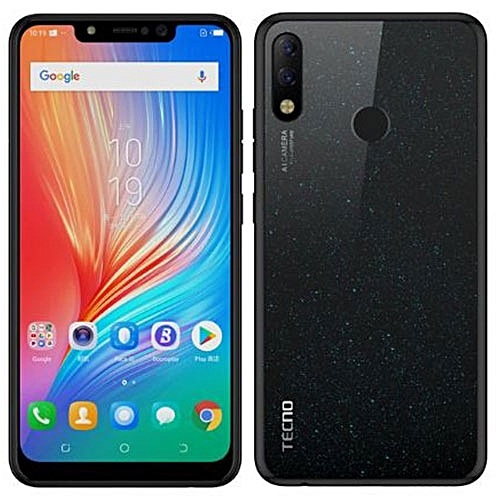 Spark 3 (KB7) 6.2-Inch HD (1GB,16GB ROM) Android 8.1 Oreo, 13MP + 8MP Dual SIM 3G Smartphone - Midnight Black