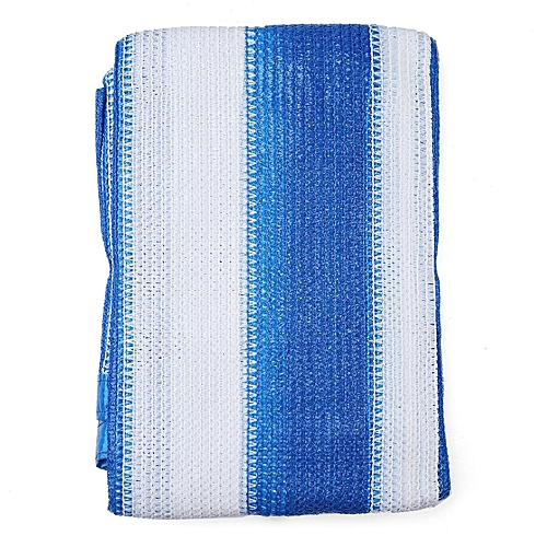 70% UV Sun Shade Sail Cloth Shadecloth Outdoor Canopy Awning Rectangle Square 4mX3m