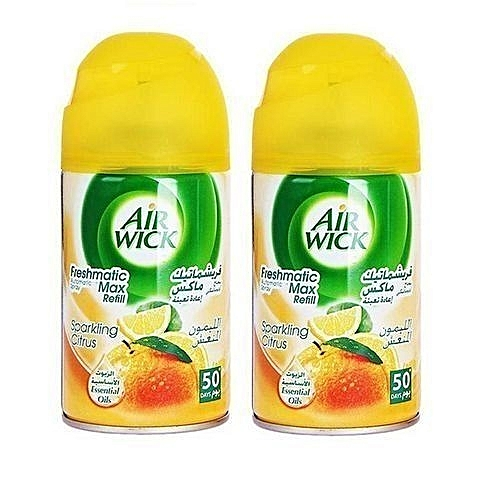Freshmatic Refill Air Freshener - (Sparkling Citrus) X 2