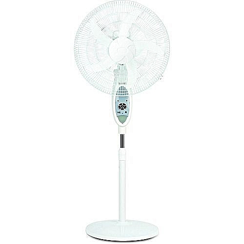 Rechargeable Fan With USB And + Solar Chargin - 16""