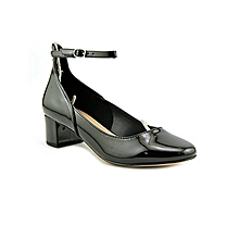 a5115260d79f Valletti Women Leather Black Heels
