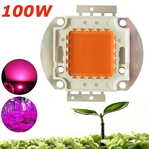 100W 380NM-840NM Full Spectrum High Power LED Chip Grow Light For MJ Plant Bloom