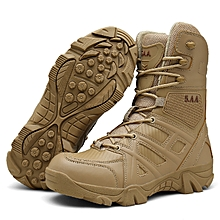 e47031f1cb35 Delta Military Boots Male Breathable Special Forces High To Help Desert  Tactical Boots Combat Boots