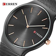 f319c7dcfde Men Analog Sports Wristwatch Quartz Business Watch - Black
