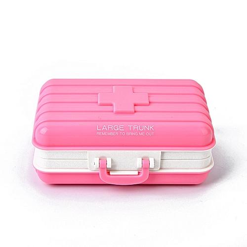 Honana HN-B18 Travel Pill Box Tablet Organizer Vitamin Medicine Case Create Jewel Storage Boxs
