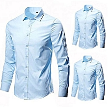 72d45d673 Quality And Trendy Skye Blue 3 In 1 Boss Men Formal Shirts