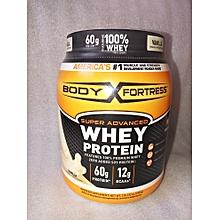 Super Advanced Whey Protein Powder, Vanilla, 2 Lbs