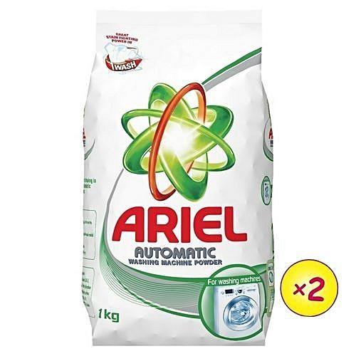 Washing Machine Detergent Powder 1kg (x2)