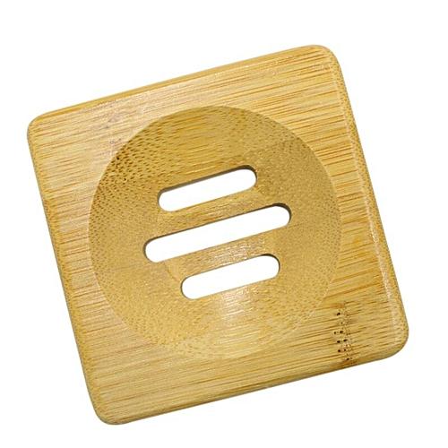 1pcs Natural Bamboo Soap Dish Tray Holder For Bathroom