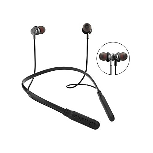 M8 Wireless Headphone Sport Bluetooth Earphone Neckband Magnetic Bass Headset Handfree Earbuds With Mic For Xiaomi For Huawei