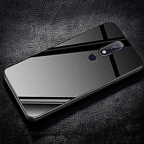 new style 0bda8 46b4c Nokia X6 2018 6.1Plus Glass Case, Ultra Thin Stronger Temper