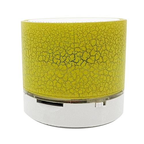 Bluetooth Speaker Portable Wireless Speaker Sound System 3D Stereo Speaker Yellow