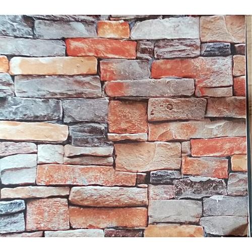 Beautiful 3D Bricks Effect Wall Paper