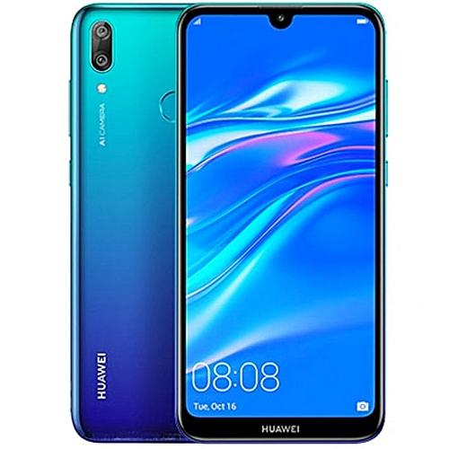Y7 Prime (2019) 6 26-Inch HD+ Dewdrop (3GB, 32GB ROM) Android 8 1 Oreo  (13MP + 2MP) + 16MP Dual SIM 4G 4000mAh Smartphone - Aurora Blue