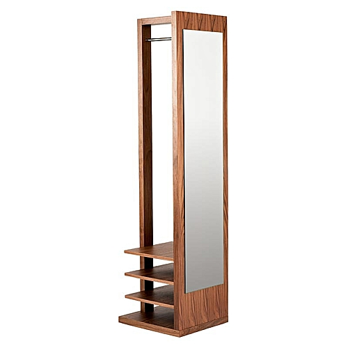 Exclusive 3 In 1 Mirror, Shoe Rack And Cloth Hanger. 87k (Lagos Only)