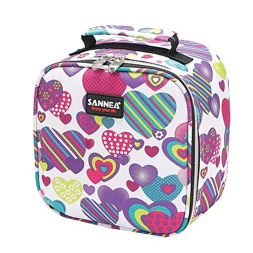 Functional Insulated Lunch Box Bag Picnic Zip Pack Waterproof Storage Handbag