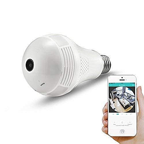 Home Security 360 Degree View Bulb CCTV Camera
