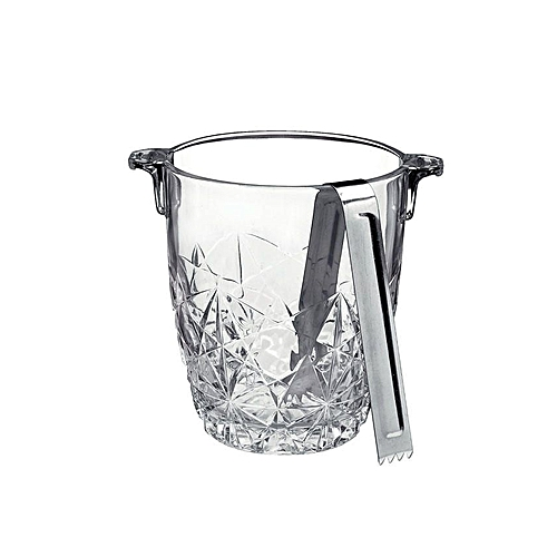 Luxury Ice Bucket- Silver