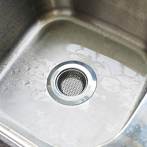 Wide Edge Sink Filter Floor Drain Cover Shower Sewer Stainless Steel Strainers, Size: S (7 X 7cm)