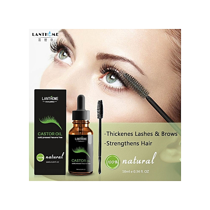 3b35f7d3dc4 ... Contains Castor Oil For Eyelashes Growth Serum - Promotes Natural  Eyebrows, Hair Eyelash Growth, ...