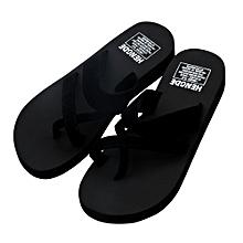 44bbced39f642 Womens Summer Flip Flops Casual Slippers Flat Sandals Beach Open Toe Shoes(CN  SIZE)