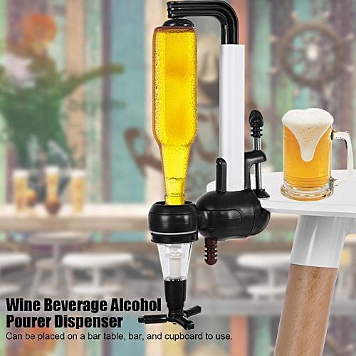 Wine Beverage Alcohol Pourer Dispenser Desktop Cupboard Barware Rack Holder Bar Tools