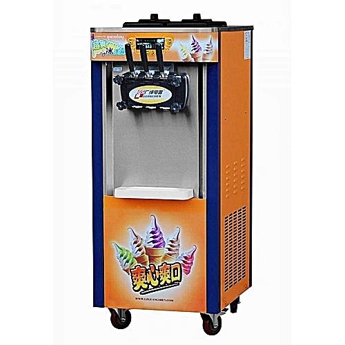 Ice Cream Machine Standing Three Chamber