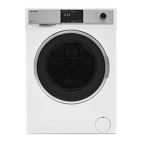 8KG Washer & 6KG Dryer - White- LAGOS ONLY