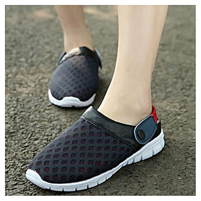 Tectores Summer Breathable Mesh Hollow Out Sandals Unisex Couples Casual  ShoesGift