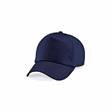 7f11c266226 Men  039 s Plain Baseball Face Cap - Navy Blue