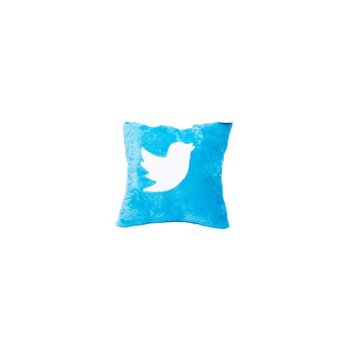 Throw Pillow Jumia : Creative Cube Spikkle Twitter throw Pillow - Blue Buy online Jumia Nigeria
