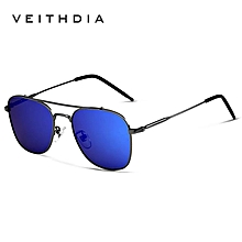 2050b14b765 VEITHDIA Fashion Brand Fashion Unisex Sun Glasses Polarized Coating Mirror  Sunglasses Oculos Female Eyewear For Men