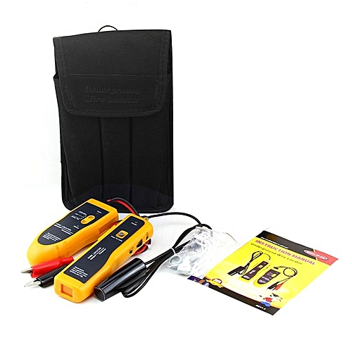 Generic ta-nf-816 Underground Cable Locator rj11 rj45 Cable Finder Network Cable Tester*Yellow