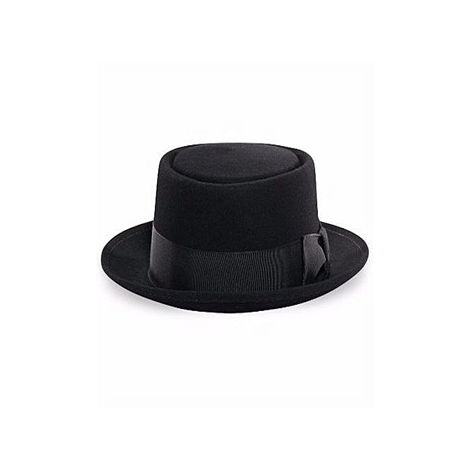 9a357bee3df26 Fashion MEN S FEDORA HAT -BLACK-