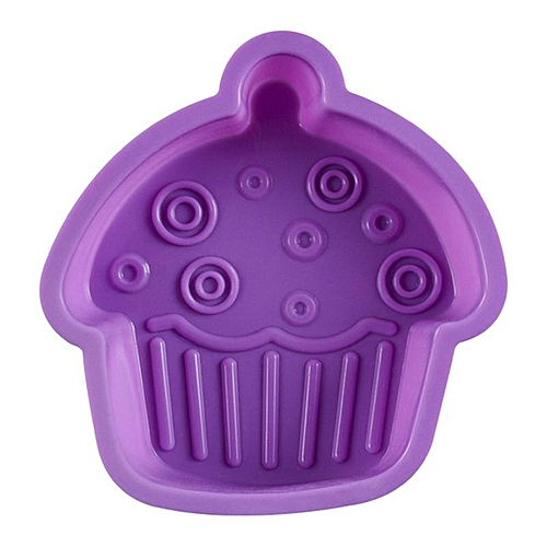 Cupcake Shaped Jelly Mould Reusable Silicone Cup Cake Outline Gelatin Mold