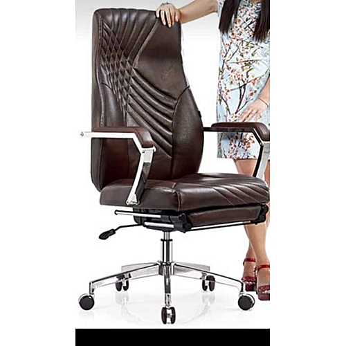 Executive Office Bed Chair - Brown