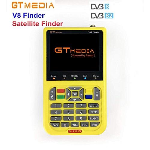 Freesat V8 Finder Digital Finder 3.5 Inch LCD Digital SatFinder DVB-S2 MPEG-4 Free Sat V8 Satellite Finder