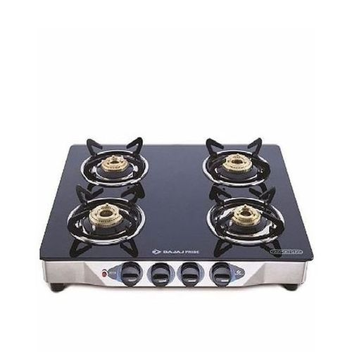 4 Burners Glass Surface Table Top Gas Cooker Stove