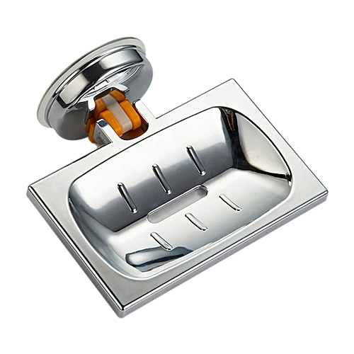 Elegant Suction Soap Dish,Powerful Vacuum Suction Cup Soap Holder,Bathroom Kitchen