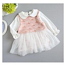 9270c13008f6 Longsleeve Baby Girls Dress Gown