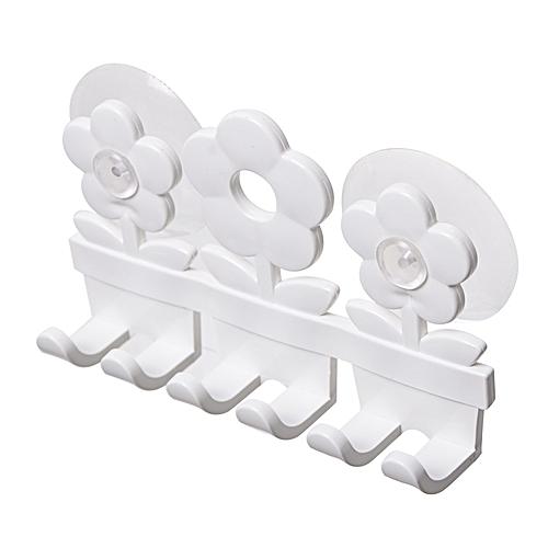 Cute Cartoon Suction Hooks Toothbrush Holder 5 Position Brush Holder Bathroom Set Home Decor