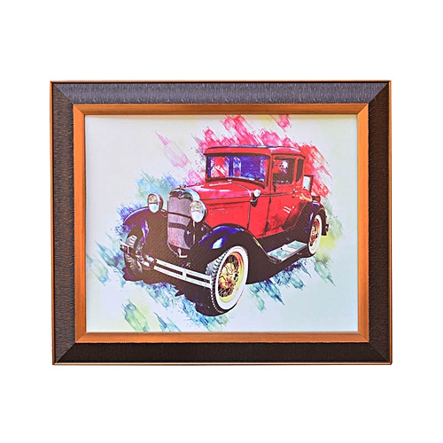 Big Wall Art Frame ''Vintage Car''