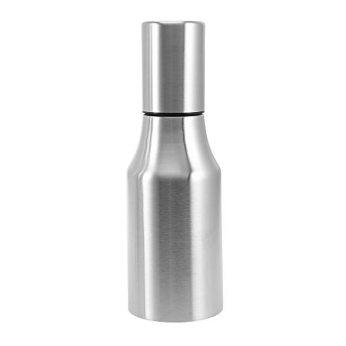 Stainless Steel Seasoning Bottle For Oil Vinegar - Silver