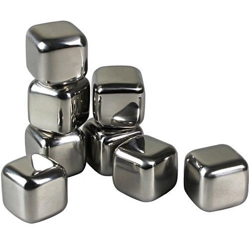 Stainless Steel Ice Cube I Whiskey Stone - Unit Price