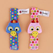 Rattle Baby Multi Shape Soft Plush Toys Animal Wrist Bell K for sale  Nigeria